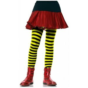 Children's Striped Tights for Girls Kids Hosiery Lots of Size & Color Choices!