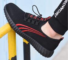 Мужской легкий стальной носок защитные рабочие ботинки туфли сетка беговые кроссовки обувь