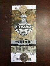 2019 Stanley Cup Finals Game 1 Boston Bruins vs. St. Louis Blues Ticket Stub