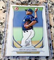 DEVIN WILLIAMS 2014 Bowman 1st Rookie Card RC Milwaukee Brewers 2020 NL ROY HOT