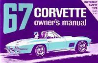 Bishko OEM Maintenance Owner's Manual Bound for Chevrolet Corvette 1967