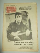 NME JANUARY 14 1978 SEX PISTOLS SIOUXSIE ROD STEWART TALKING HEADS HOT CHOCOLATE