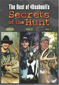 The Best of Bushnell's Secrets of the Hunt Triple Feature [DVD] NEW!