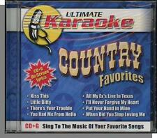 Karaoke CD+G - Ultimate: Country Favorites - New 8 Song CD! All My Ex's in Texas