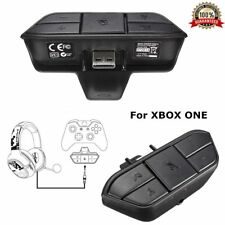 Audio Stereo Headset Controller Adapter For Microsoft Xbox One Joystick Mic UK