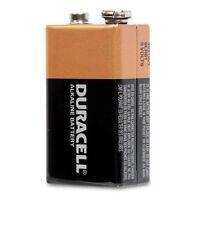 4 x Duracell 9V Batteries . . Brand New 9 volt block battery  MN1604 6LR61