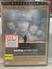 Saving Private Ryan New Sealed Dvd+Widescreen+Special Limited Edition+Bonuses!