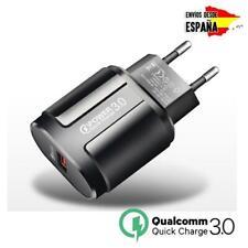 Cargador USB universal de Carga Rapida para Movil Tablet Qualcomm 3.0