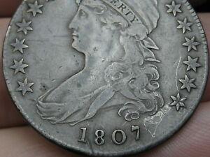 1807 Capped Bust Half Dollar- VF Details