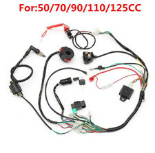 Wiring Harness Loom Solenoid Coil Rectifier CDI 50 70 90 110 125cc ATV Quad Bike