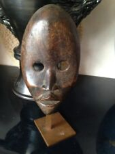 Bel ancien masque DAN art africain tribal Côte d'ivoire