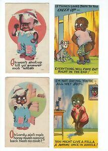 6-1914 Black Americana Postcards
