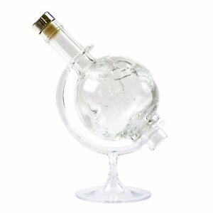 Flaschen Globus 500 ml - Whisky Flasche - für Minibar