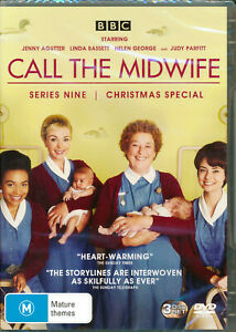 Call the Midwife Series Nine 9 Ninth Christmas Special DVD NEW Region 2 and 4