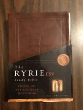 ESV Ryrie Study Bible - Burgundy Softouch - $59.99 Retail - OUT OF PRINT