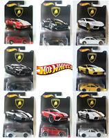 Hot Wheels 2017 Lamborghini Lot Series Diecast Metal Toy Car 1:64 *AIR MAIL*