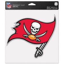Tampa Bay Buccaneers Car Window Decal 8 Die Cut Logo Color