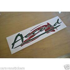 SWIFT Accord - (2000 MODEL) - Caravan Name Sticker Decal Graphic - SINGLE