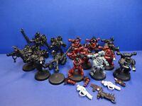 8 Chaos Marines + 5 Raptoren der Chaos Space Marines