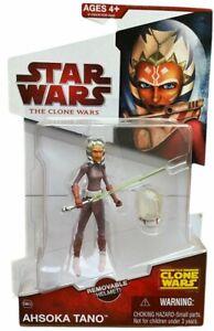 Star Wars Clone Wars CW23 Ahsoka Tano Action Figure NEW 2009 w Space Gear Helmet