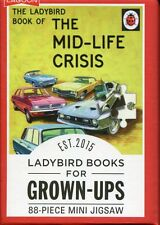 THE MID-LIFE CRISIS 88 PIECE MINI JIGSAW PUZZLE - LADYBIRD BOOKS FOR GROWN-UPS