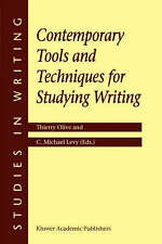 Contemporary Tools and Techniques for Studying Writing (Studies in-ExLibrary