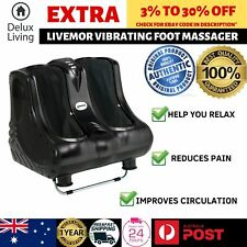 Livemor Calf Foot Massager Therapy Kneading Ankle Ultimate Electric Spa Machine