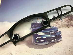 04 06 Subaru Baja Cluster Trim Speedometer Bezel Dual Gauge Pod 52mm OCP