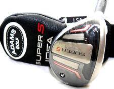 New Adams Super S Black 19* #3-Hybrid Stiff Matrix Kujoh Graphite Left Hand