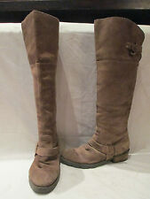 Block Over Knee Pull on Boots Women's NEXT