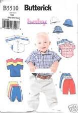 B5510 INFANTS, T-SHIRTS, PANTS, HAT, SIZES LRG-XLG BUTTERICK PATTERN 5510