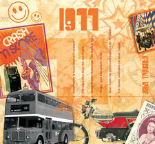 40th Birthday Gift - 1977 Classic Years Pop CD Greetings Card - Retro Gifts
