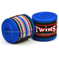 Twins Handwraps 5M Blue Stripe Ch-2 Stretch Boxing Muay Thai Kickboxing Striking