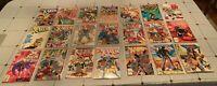 21 X-men Comic Book Lot Uncanny X-men 224-303 Unlimited #1 #2 Obnoxio Marvel +