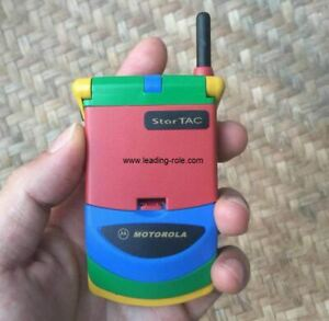 Original Motorola Mobile Phone Startac 338c Color