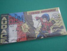 Collana AUDACE il Piccolo Ranger Striscia Fumetto  Anastatica  3°serie N 2 CU
