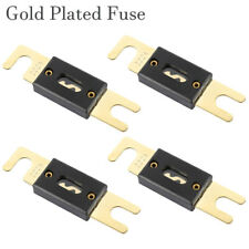 200A AMP ANL Type Fuse Gold Plated High Quality Fuses 4 Pack Car Audio Blade 12V
