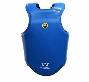Wesing men WuShu sanda chest guards Martial Arts chest protectors IWUF approved