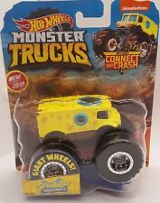 Hot Wheels Monster Trucks SPONGEBOB SQUAREPANTS NEW 48/50 2019 W CONNECT CAR GBT