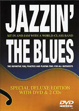 Jazzin' The Blues Learn to Play Jazz Guitar Music Lesson Tutor DVD & CD