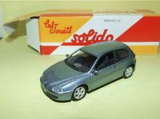 ALFA ROMEO 147 Gris Bleuté 2000 Gris SOLIDO Boite Carton