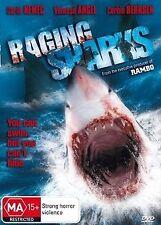 Raging Sharks NEW R4 DVD