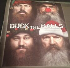 Duck Dynasty Duck The Halls Throw Blanket 46x60 Si Willie Jase Phil Commander