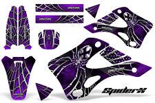 KAWASAKI KX125 KX250 99-02 GRAPHICS KIT CREATORX DECALS SPIDERX SXPR