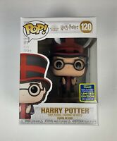 Funko Pop! Harry Potter #120 Harry Potter at World Cup 2020 SDCC Shared Exclus.