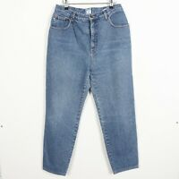 Vintage MOSCHINO JEANS Peace Pocket Logo Jean Trousers Blue   36