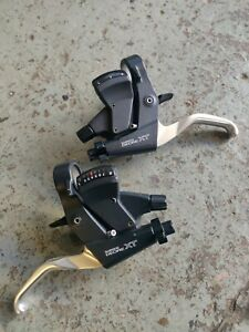 Shimano Deore XT M739 8 24 Speed STI shifters ST-M739 VGC Combined brake shifter