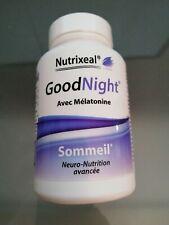nutrixeal good night  avec Mélatonine60 Gélules