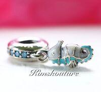 Authentic Pandora Tropical Seahorse Charm 791311MCZ