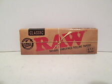 Raw Classic 1 1/4 Cigarette Rolling Papers 5 Packs
